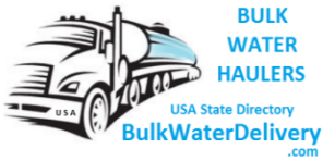 Logo for BulkWaterDelivery.com Pool water delivery Water Hauler Directory by State