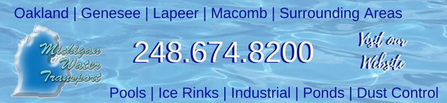 Michigan Water Transport Banner Ad Image. Click to visit web site